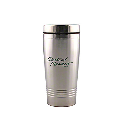 Central Market Stainless Steel Travel Mug, EACH